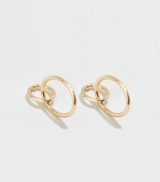 New Look Double Oval Linked Earrings