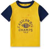 Ralph Lauren Childrenswear Cotton Jersey Graphic Cotton T-Shirt
