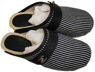 Chanel Multicolour Cloth Mules & Clogs
