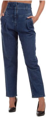 Alberta Ferretti Biker Jeans