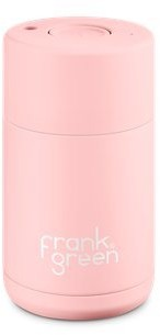 Frank Green Ceramic Lined Stainless Steel Cup - Blushed, 10 Oz