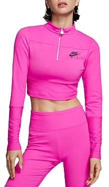Nike Half-Zip Cropped Top