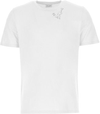 Saint Laurent Guitar Printed T-Shirt
