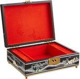 Oriental Furniture Good Great Gift Present Idea Her Mom Wife, 11-Inch Clementina Oriental Jewelry Box Case Chest