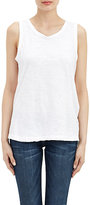 Current/Elliott Women's The Muscle Tee Tank-WHITE
