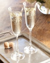 Williams-Sonoma Williams Sonoma Flora Toasting Champagne Flutes, Set of 2