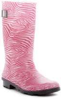 Kamik Zebra Print Rain Boot (Little Kid & Big Kid)