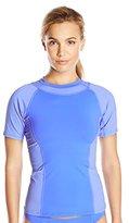Oakley Women's Synergy Solid Short Sleeve Rashguard