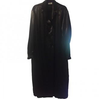 Jil Sander Black Coat for Women