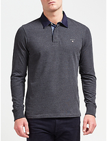 Gant Original Heavy Jersey Rugby Top, Charcoal