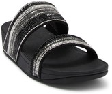 FitFlop Rosa Crystal Embellished Mosaic Thong Toe Sandal