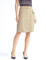 Banana Republic A-Line Utility Skirt