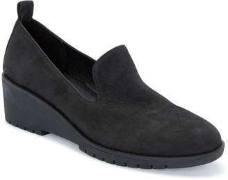Tucker Adam Leather Wedge Slip-On Loafers - Nexi