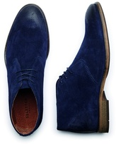 Selected Homme Navy 'bolton' Suede Boots