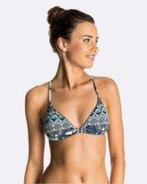 Roxy Womens Strappy Love Reversible Fixed Tri Separate Bikini Top