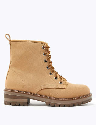 Marks and Spencer Lace Up Hiker Ankle Boots