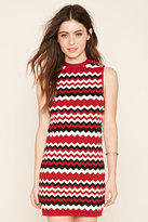 Forever 21 FOREVER 21+ Zigzag Sweater Dress