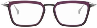 Yohji Yamamoto Black Square Glasses