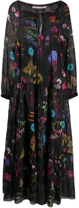 Stella McCartney Trippy Floral Print Maxi Dress