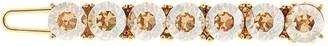 Oscar de la Renta Rhinestone-Embellished Hair Clip