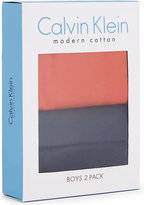 Calvin Klein Modern Cotton T-shirts Pack Of Two 4-16 Years