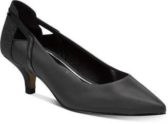 Easy Street Shoes Fancy Kitten-Heel Pumps Women Shoes