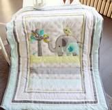 Circo Baby Safari Elephant Crib Bedding - Quilt