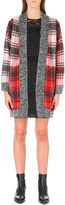 Claudie Pierlot Mosaique knitted cardigan