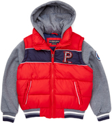 U.S. Polo Assn. Winning Red Puffer Coat - Toddler & Boys