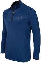 Greg Norman for Tasso Elba Men's Big & Tall Embossed Quarter-Zip Sweater, Only at Macy's
