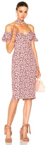 Alexis Calla Dress in Floral,Pink.