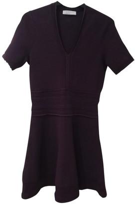 Sandro Spring Summer 2019 Purple Viscose Dresses
