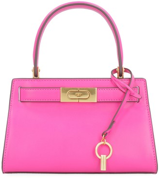 Tory Burch Lee Radziwill Leather Handbag