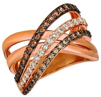 LeVian 14K Strawberry Gold 1.16 Ct. Tw. Diamond Ring