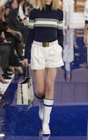 Ralph Lauren Leather Hadley Short