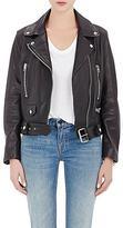 Acne Studios Women's Lambskin Moto Jacket-BLACK