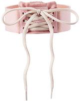 FENTY® PUMA® by Rihanna Lace-Up Choker Collar, Pink/White