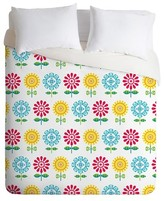 DENY Designs Andi Bird Pt Reyes Flowers Duvet Cover