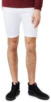 Topman Men's Stretch Skinny Fit Denim Shorts