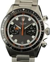 Tudor 70330N Heritage Chrono Grey Dial Stainless Steel Grey Black Watch