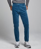 Todd Snyder Italian Stretch Cord Sutton Suit Trouser in Teal