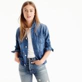 J.Crew Denim chore jacket with patch pockets