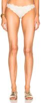 Marysia Swim Antibes Bikini Bottom in Metallics,Neutrals.