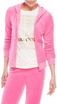 Juicy Couture Velour Zip-Up Hoodie
