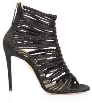 Aquazzura Goddess Strappy Sandals