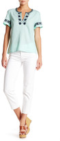 J.Crew Factory J. Crew Factory Solid Cropped Straight Jean