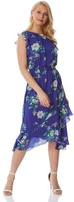 M&Co Roman Originals floral ruffle dress