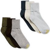 Gold Toe Women's Turn Cuff 6 Pack Socks