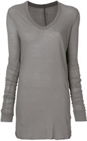Rick Owens long sleeve T-shirt - women - Cotton - 38