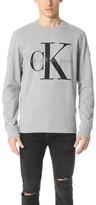 Calvin Klein Jeans Reissue Logo Crew Sweatshirt